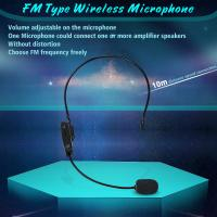 Wholesale FM Professional headset wireless headset microphone for Tour Guides, Teachers, Coaches, Presentations, Costumes from china suppliers