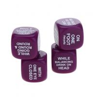 Wholesale Funny 25MM Acrylic Joke Dice With Custom Printing Six Side,Cheap Wholesale Price, For Game And Homework Jokes from china suppliers