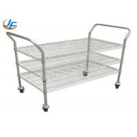 China Dining Room Baking Tray Trolley Tea Serving Cart Rolling Cart For Restaurant on sale