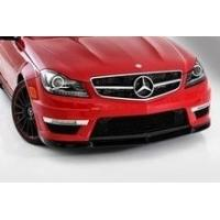 Wholesale Mercedes C Class W204 Carbon Front Spoiler Lip/Spoiler C 63 AMG Facelift from china suppliers