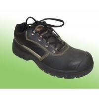 Wholesale High Quality Black Leather Industrial Safety Shoes Abp7-1001 from china suppliers