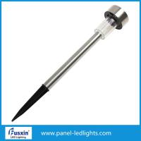 China IP55 0.06w Solar Led Street Light / Stainless Steel Solar Garden Light With Ni Mh Battery on sale