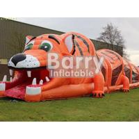 Wholesale PVC Material Multi-Function Animal Themed Obstacle Course Games For Kids / Adults from china suppliers