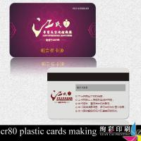 Wholesale Bookstore Custom Design PVC Business Cards Eco Friendly Round Corner from china suppliers
