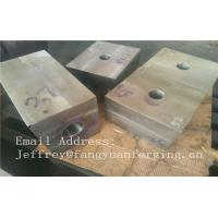 Wholesale SA182 F316 F304 SForged Steel Products Forgings Block Solution Milled And Drilling from china suppliers
