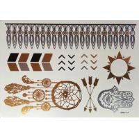 Wholesale Metallic foil tattoo from china suppliers