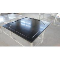 Wholesale Black  Epoxy Resin Worktop with Glare Surface and Marine Edge from china suppliers