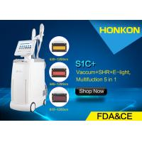Wholesale Vacuum RF IPL Beauty Equipment , Facial Hair Removal Machine For Women from china suppliers