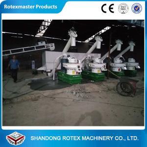 Buy cheap Six Generation Wood Pellet Equipment 2-3 Tons Per Hour Biomass Pellet Production from wholesalers