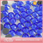 China DMC Hotfix Sapphire Sparkle Stones Dress Trim Dance Wear Bling Leotard Accessories Bikini Trims Atelier Handmade Craft for sale