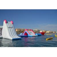 China Giant Inflatable Floating Water Park Equipment / Air Water Games for Kids and Adult on sale