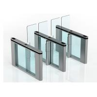 Wholesale Bidirection Automatic Turnstiles TCP IP RFID Card Reader Swing barrier from china suppliers