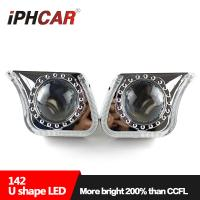 Wholesale Auto LED Head Lamp G142 U Type bi-xenon projector light universal for H1 H4 H7 H11 car from china suppliers