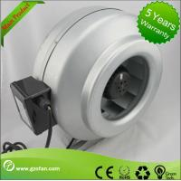 Wholesale galvanised Sheet Steel Inline Circular Duct Fan Class F Low Noise from china suppliers