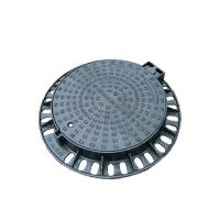 Wholesale Cast Ductile Iron Heavy Duty Manhole Covers / Round Manhole Cover And Frame from china suppliers