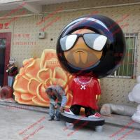 Wholesale event party sculpture mascot statue  strong fiberglass material in garden/ plaza/ shopping mall for attraction from china suppliers