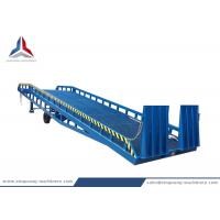 8 Tons Load Capacity Mobile Hydraulic Loading Dock Ramp for Forklift for sale