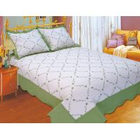 Wholesale Plain Color Floral Bedding Sets Silky Soft Touch For Home And Hotel from china suppliers