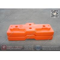 Wholesale Blow Mould Tempoary Fencing Feet (Combined Type) | China Plastic Feet Supplier from china suppliers