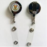 Wholesale Customer Design PVC Badge Holder With Silk - Screen Logo YDPB-024 from china suppliers
