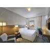 4 Star Wooden Modern Luxury Hotel Bedroom Furniture MDF With Wooden Veneer for sale