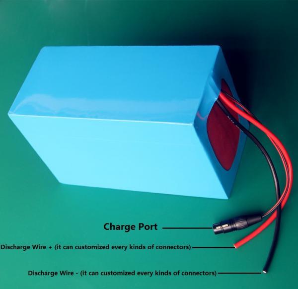 DIY 48v1000W Electric Bike Lithium Battery 48V 30Ah Li-ion 18650 battery with 30A BMS for E Bike Battery