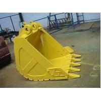 Quality Hitachi Komatsu Excavator Rock Bucket , Heavy Duty Strength Rock Bucket For Excavator for sale