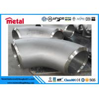 Wholesale 90 Degree Butt Weld Elbow , Alloy Steel Incoloy 825 Fittings For Industries from china suppliers
