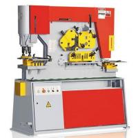 Buy cheap Q35Y Swing Beam Hydraulic Ironworker For Metal Shearing / Punching from Wholesalers
