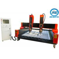 China Dual Spindles 3D Cnc Router Stone Engraving Machine For Carving Natural Marble on sale