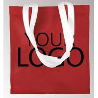 Wholesale High Quality Recyclable Custom Logo Printed Grocery Tote Bag Non Woven Bag, Low Price Printing Logo Promotional BAGS, TO from china suppliers