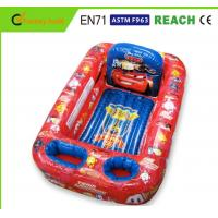 Wholesale Disney Cars Inflatable Swimming Pool Non Toxic PVC Vinyl Light Weight from china suppliers
