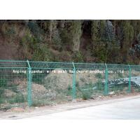 Quality Durable Waterproof Security Wire Fencing , Wire Mesh Garden Fence Panels Simple Design for sale
