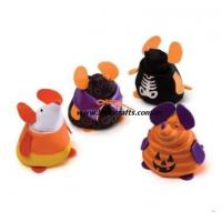 China Stuffed Small Halloween Mouse Toys on sale