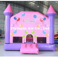 China Pvc Lawn Toy Crayon Bounce Inflatable Bouncy Castle with Blower for Children on sale