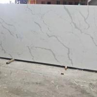 Wholesale Fish Belly White Snow White Quartz Stone Tiles Slabs High Hardness from china suppliers