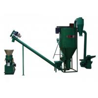 China 15kw Noiseless Straw Wood Pellet Machine With High Effciency on sale