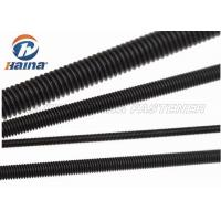 Wholesale Black Finished All Threaded Bar , Grade 5 Grade 8 Fully Black Threaded Rod from china suppliers