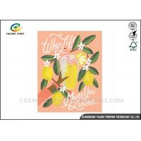 Wholesale Festival Paper Greeting Cards Eco Friendly Materials For Mothers