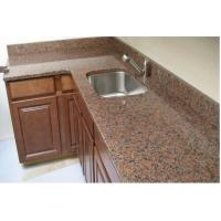 China Natural Red Granite Kitchen Countertop Good Compressive Strength For Home on sale