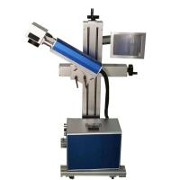 Wholesale Cosmetics QR Code Laser Marking Machine Pulse Frequency With Power Switch from china suppliers