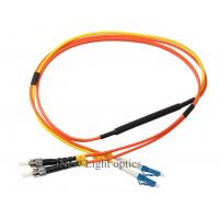 China Single Mode Fiber Patch Cord Types (MCP) G652D Conditioning Multimode OM1 62.5/125 on sale