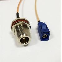[Good Quality]N Female bulkhead connector to Fakra RF cable assembly wireless wifi, Fast China Shipping