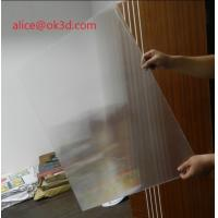 Wholesale 3D effects lenticular sheet materials 25 lpi 4mm thickness lenticular for uv flatbed printer and inkjet print from china suppliers