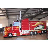 China Transformers Truck Inflatable Obstacle Course on sale