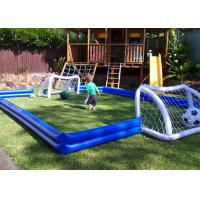 Wholesale Kids Inflatable Sports Games Inflatable Football Field For House Backyard from china suppliers