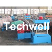 Wholesale 30KW, 3 Phase 50Hz 2 Wave Beam Roll Forming Machine With 10 - 12m/min Working Speed from china suppliers