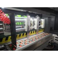 Buy cheap High Speed Lead edge feeder Automatic Slotter Die cutter carton box making from wholesalers