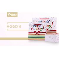 China Birthday Coloured Paper Gift Bags , Funny Gift Bags Glossy Lamination for sale