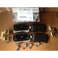 Wholesale Audi A4 Auto Brake Parts Rear Brake Pad Set 8K0698451A Rear Axle Thickness 17.7mm from china suppliers